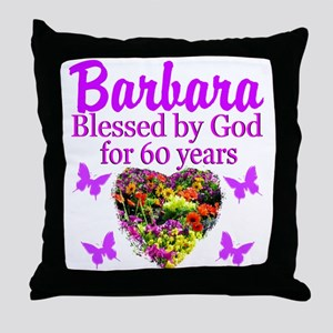 PRAYING 60 YR OLD Throw Pillow