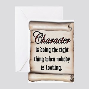 CHARACTER Greeting Cards