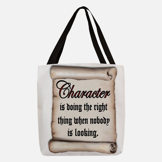CHARACTER Polyester Tote Bag