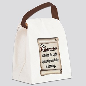 CHARACTER Canvas Lunch Bag