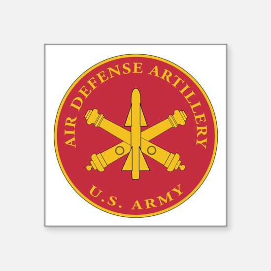 "Unique Air defense command Square Sticker 3"" x 3"""