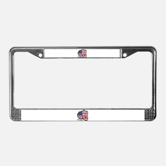 USA Fist 1975 License Plate Frame