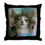 Animal on Throw Pillow
