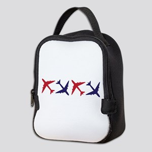 Airplanes Neoprene Lunch Bag