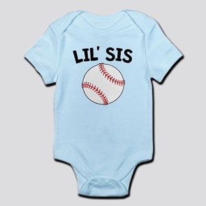 Lil Sis Baseball Body Suit
