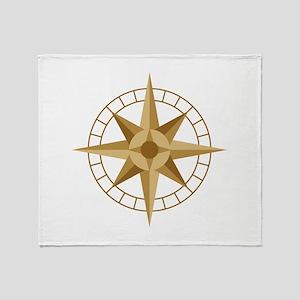 Compass Throw Blanket