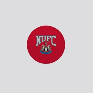 NUFC and Crest Mini Button