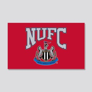 NUFC and Crest 20x12 Wall Decal