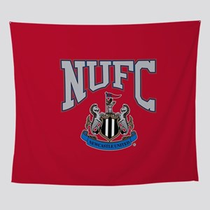 NUFC and Crest Wall Tapestry