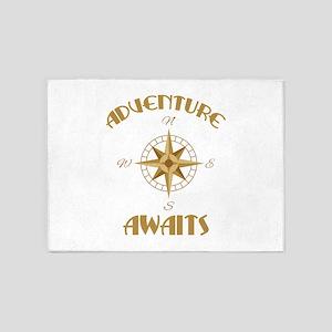 Adventure Awaits 5'x7'Area Rug
