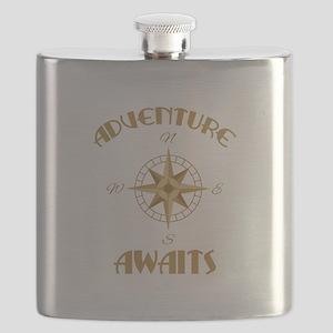 Adventure Awaits Flask