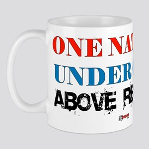 One Nation Above Regret Mug