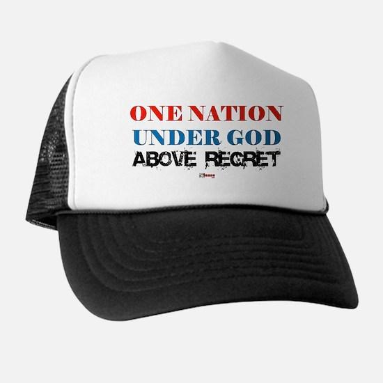 One Nation Above Regret Trucker Hat