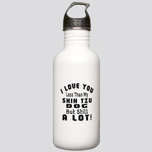 Shih Tzu dog designs Stainless Water Bottle 1.0L