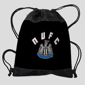 NUFC and Crest Drawstring Bag