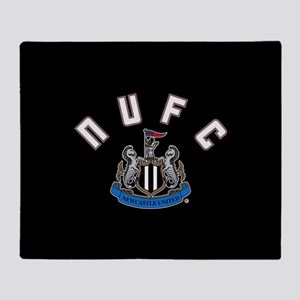 NUFC and Crest Throw Blanket