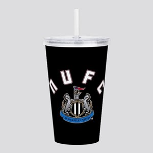 NUFC and Crest Acrylic Double-wall Tumbler