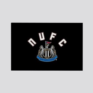NUFC and Crest Rectangle Magnet