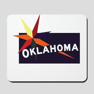 Welcome to Oklahoma, Native America - US Mousepad