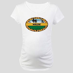 MARLENE - safari Maternity T-Shirt