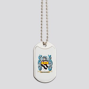 Clements Coat of Arms - Family Crest Dog Tags