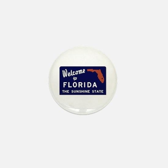 Welcome to Florida Vintage 70s - USA Mini Button