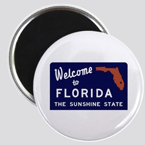 Welcome to Florida Vintage 70s - USA Magnet