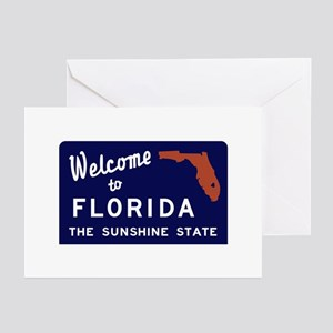 Welcome to Florida Vinta Greeting Cards (Pk of 10)