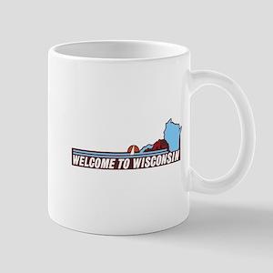 Welcome to Wisconsin 90s - USA Mug