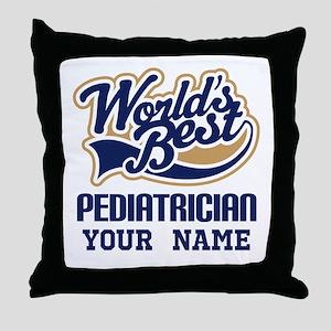 Pediatrician Personalized Gift Throw Pillow