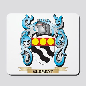 Clement Coat of Arms - Family Crest Mousepad