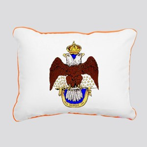 Scottish Rite Rectangular Canvas Pillow