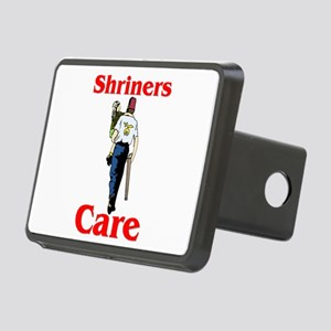 Shriners Care Rectangular Hitch Cover
