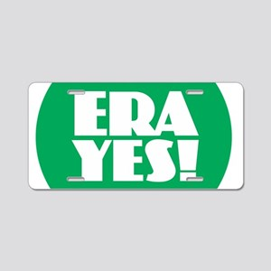 ERA YES Aluminum License Plate