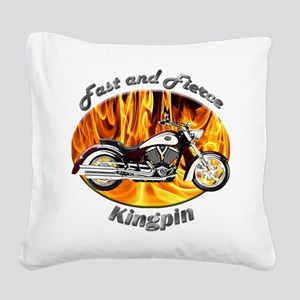 Victory Kingpin Square Canvas Pillow
