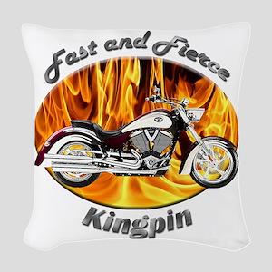 Victory Kingpin Woven Throw Pillow