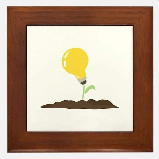 Grow An Idea Framed Tile