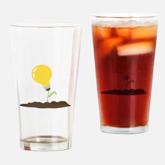 Grow An Idea Drinking Glass