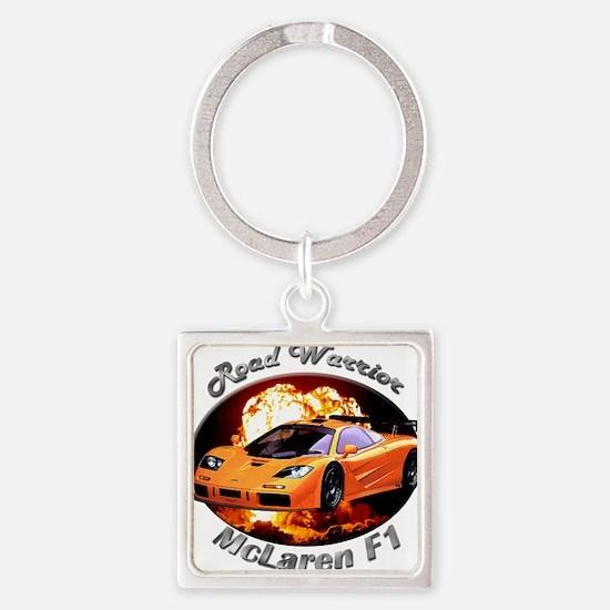 McLaren F1 Square Keychain