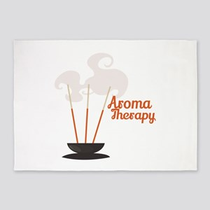 Aroma Therapy Incense 5'x7'Area Rug