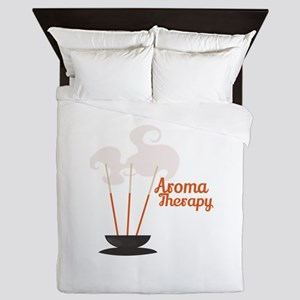 Aroma Therapy Incense Queen Duvet