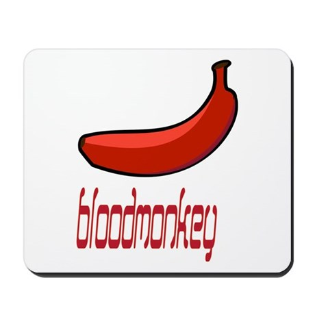 blood monkey Mousepad