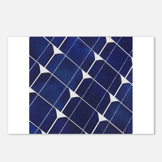 Funny Solar panel Postcards (Package of 8)