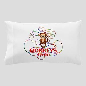 Monkeys Rule Pillow Case