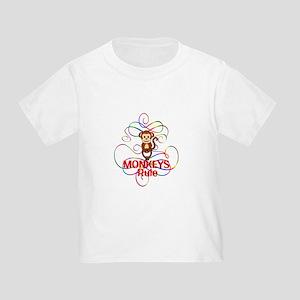 Monkeys Rule Toddler T-Shirt