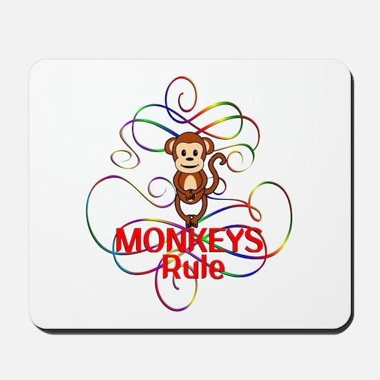 Monkeys Rule Mousepad
