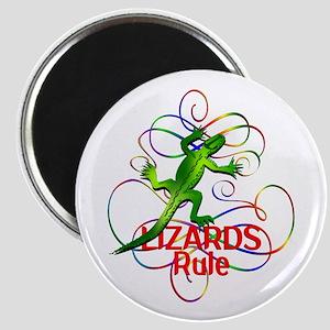 Lizards Rule Magnet