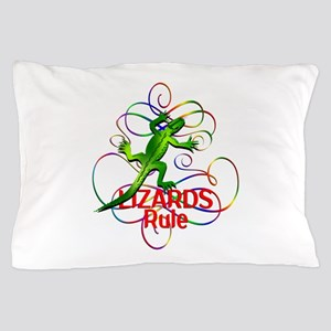 Lizards Rule Pillow Case