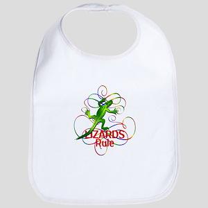 Lizards Rule Bib