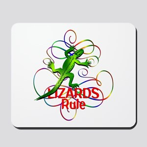 Lizards Rule Mousepad